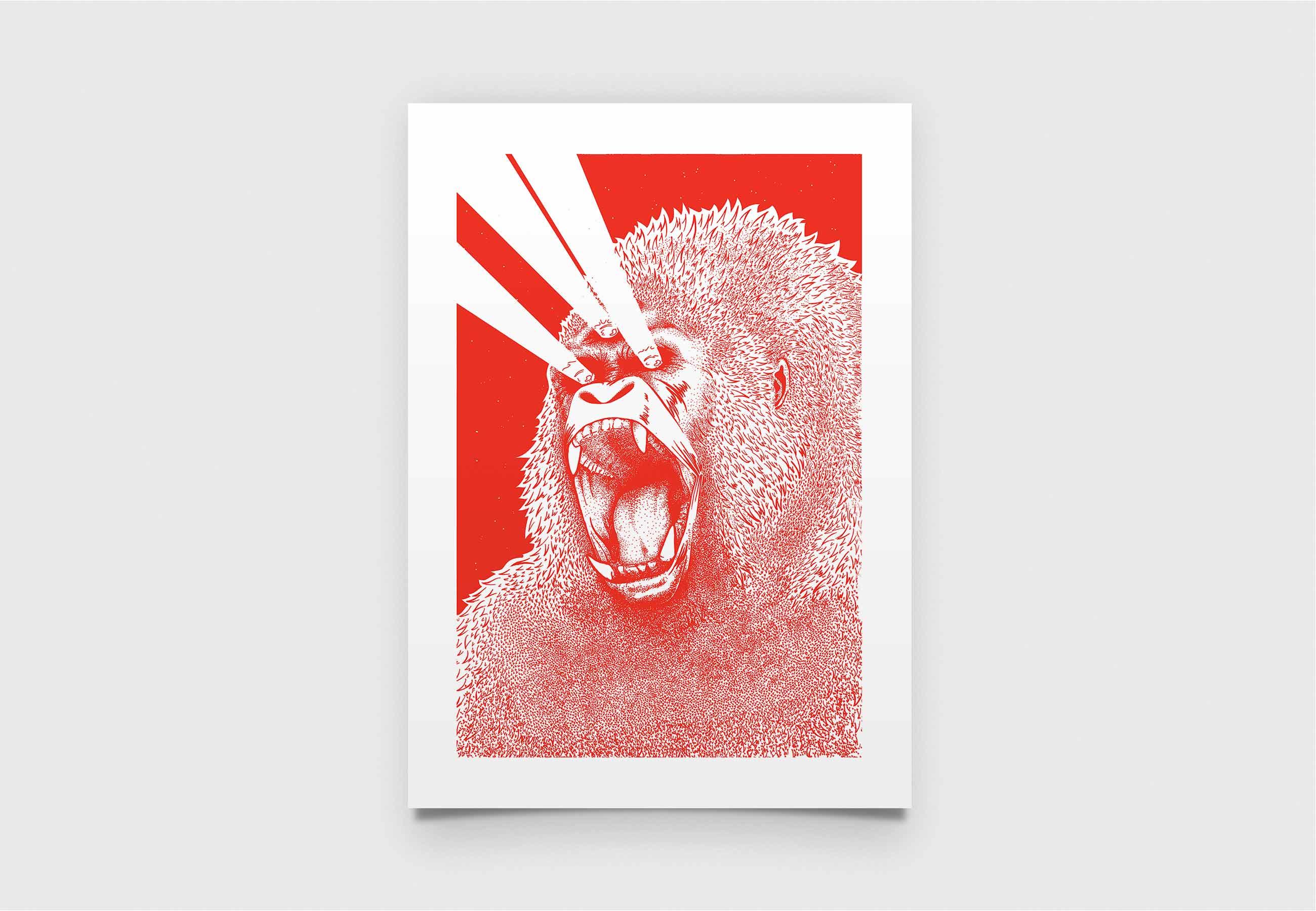 3rd_eye_creatures_gorilla_parallele_graphique